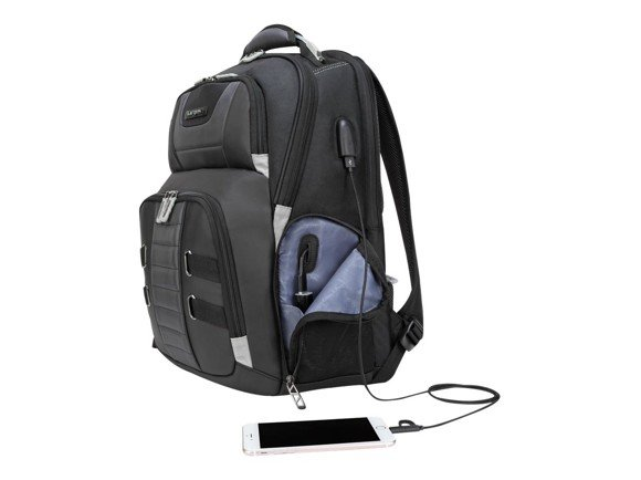 Targus - Laptop Backpack Whit USB Power Pass Thru