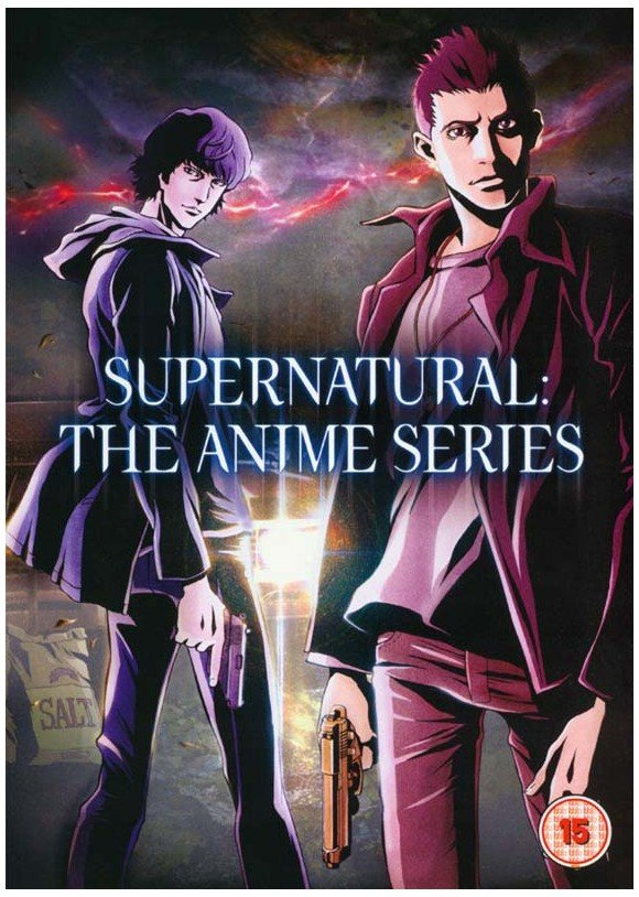 Supernatural: The Anime Series (3-disc) - DVD