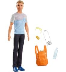 Barbie - Travel Ken Doll (FWV15)