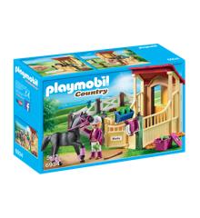 Playmobil - Hestestald med Araber Hest (6934)