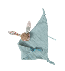 Moulin Roty - Rabbit muslin comforter (665019)