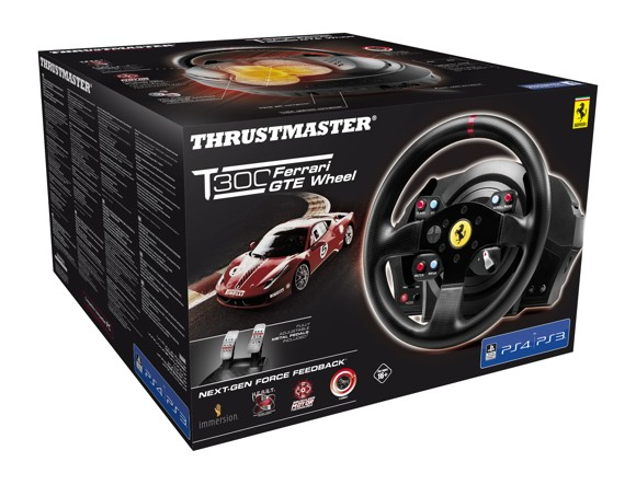 Thrustmaster T300RS Ferrari GTE Wheel