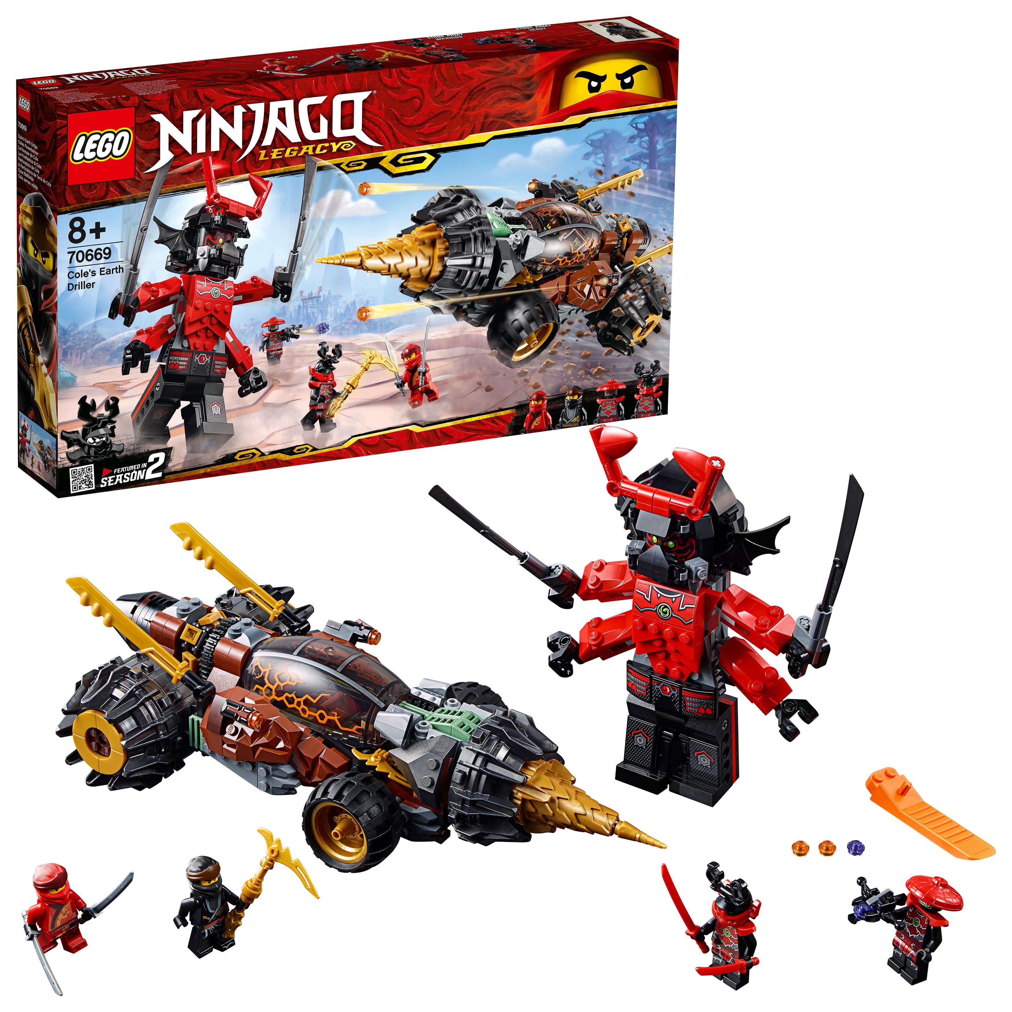 buy lego ninjago  cole's earth driller 70669