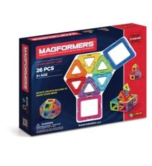 Magformers - Rainbow 26 bitar