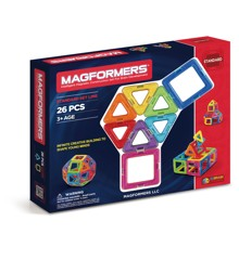 Magformers - Rainbow 26 Piece Set (63087)