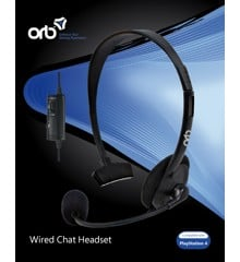 Playstation 4 - Wired Chat Headset (ORB)