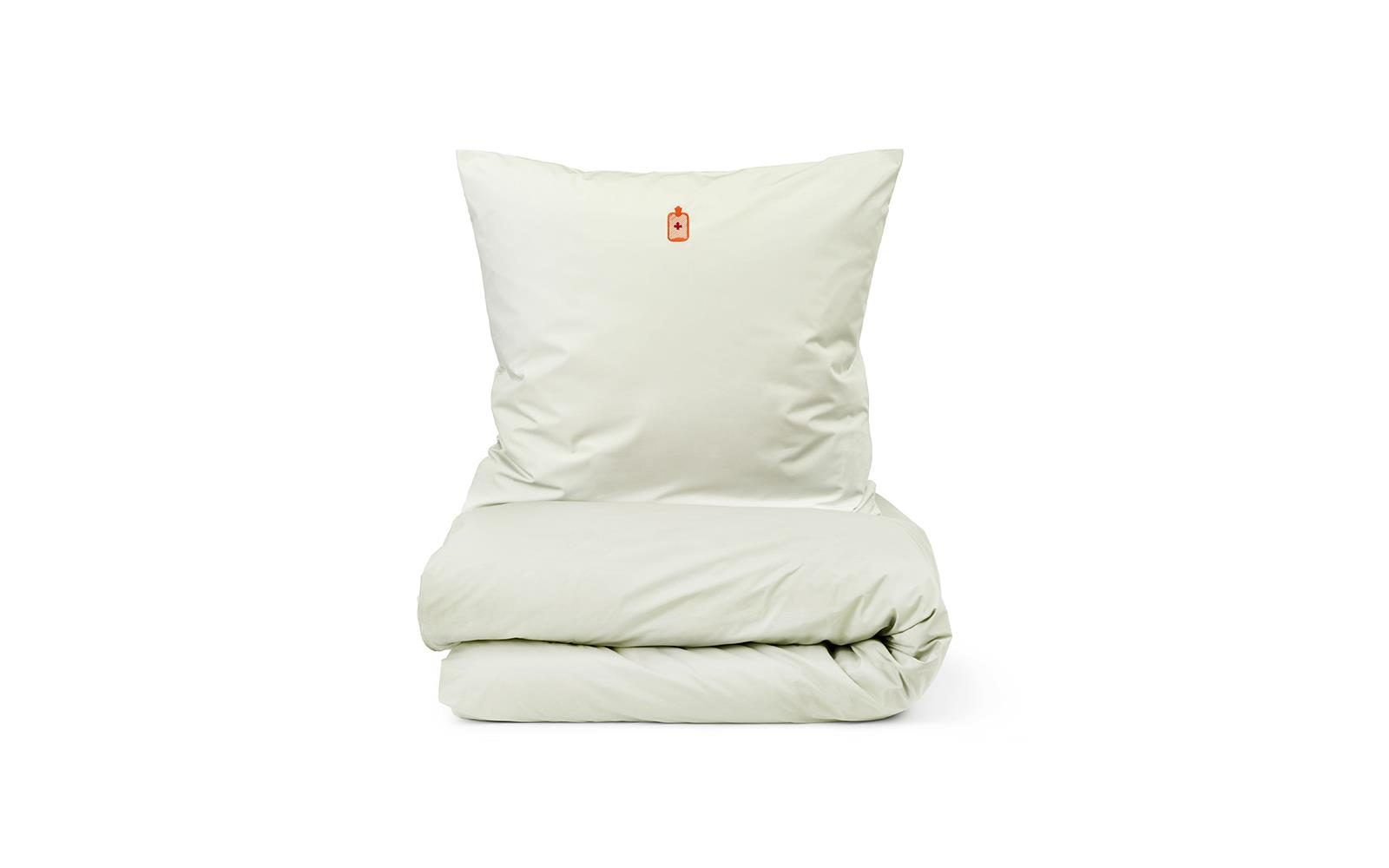 Normann Copenhagen - Snooze Bedding 140 x 200 cm - Fell Better Sart Green (310504)