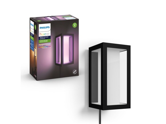 Philips Hue - Impress Wall Lantern - 220v - White & Color Ambiance