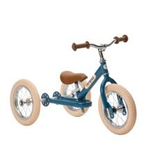 Trybike - Dreirad Steel Laufrad, Vintage blau