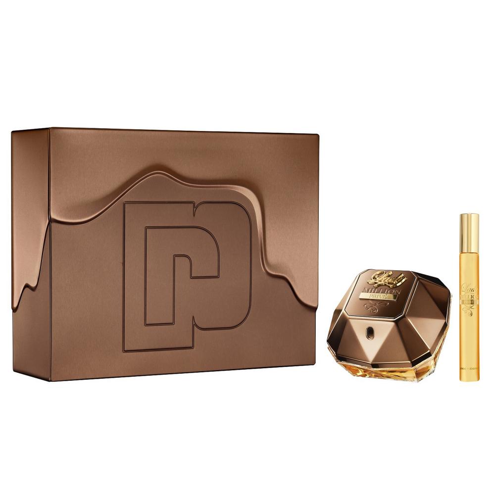 Paco Rabanne - Lady Million Prive EDP 50 ml + EDP 10 ml - Giftset