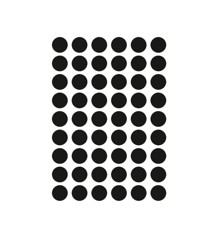 Ferm Living - Mini Dots Wallstickers - Black