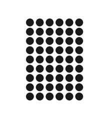 Ferm Living - Mini Dots Wallstickers - Black