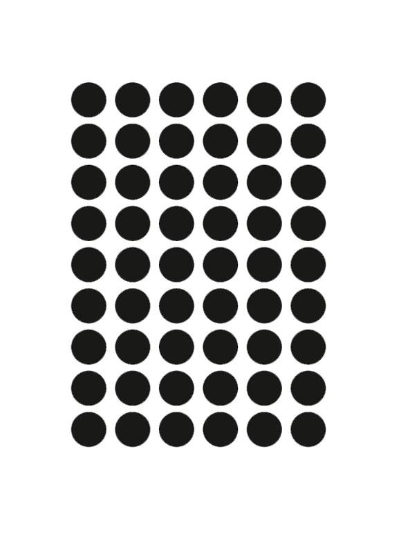 Ferm Living - Mini Dots Wallstickers - Sort