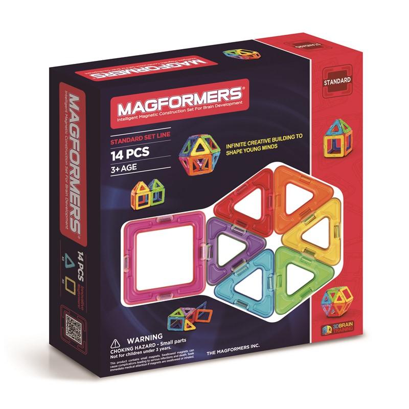 Magformers Rainbow 14 Dele