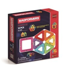 Magformers - Rainbow 14 Piece Set (3022)