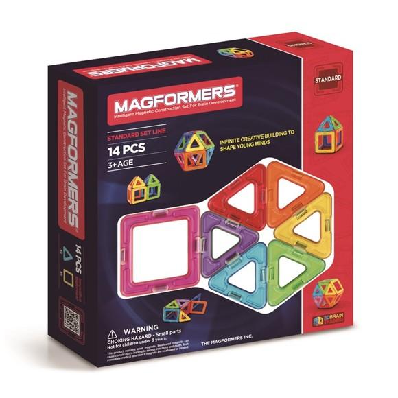 Magformers - Rainbow 14 Piece Set (3022)
