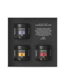 Lakrids By Bülow - Black Box  1, 2, 3 Lakrids 450 g
