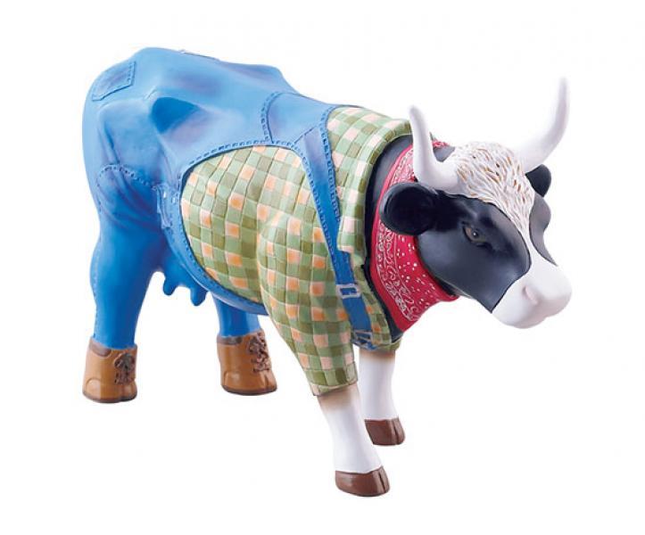 CowParade - Kuhfigur (Farmer Cow) - Mittelgroß