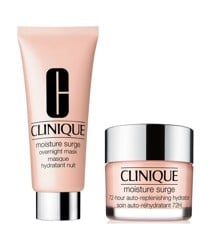 Clinique - Moisture Surge 72-Hour Auto-Replenishing Hydrator 30 ml + Moisture Surge Overnight Mask 100 ml