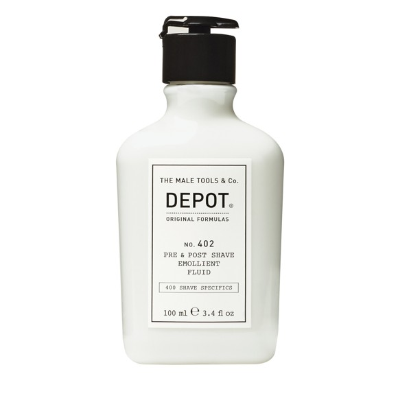 Depot - No. 402 Pre & Post Shave Emollient Fluid 100 ml