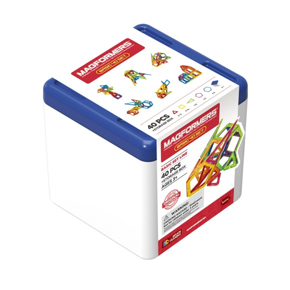 Magformers - 40 set in plastic case (3058)