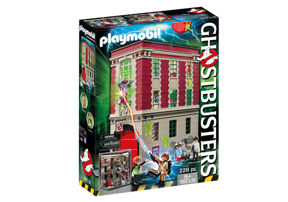 Playmobil - Ghostbusters - Firehouse (9219)