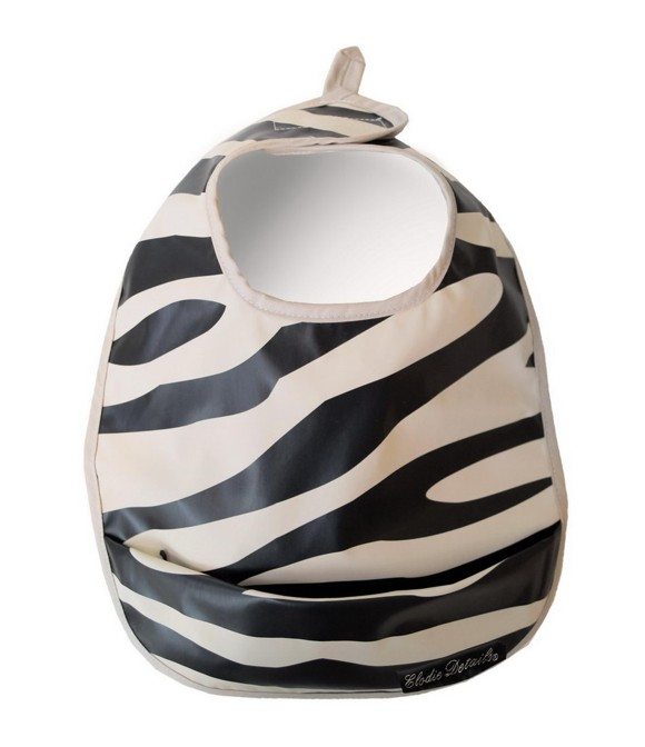 Elodie Details - Eating Bib - Zebra Sunshine