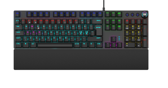 DON ONE - Salvatore gaming keyboard