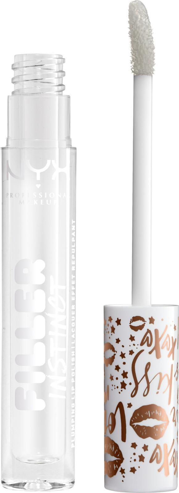 NYX Professional Makeup - Filler Instinct Plumping Lip Polish - Let's Glaze