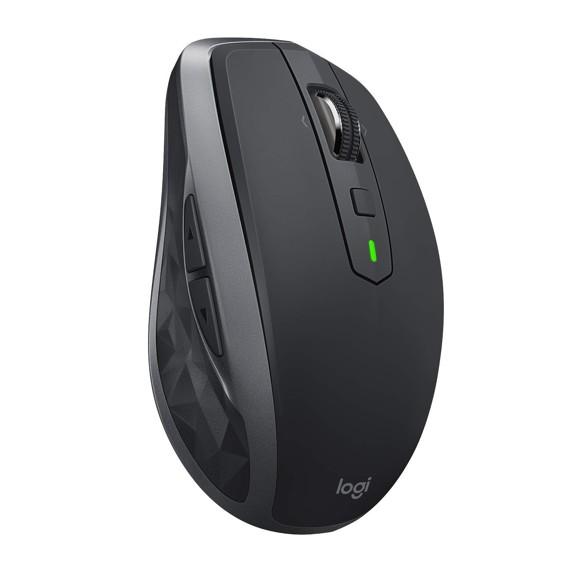 Logitech MX Anywhere 2S trådløs Bluetooth Mus til Mac og Windows - grafitgrå