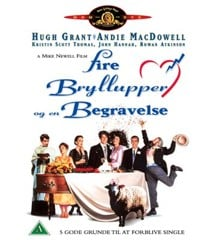 Four Weddings and a Funeral - DVD