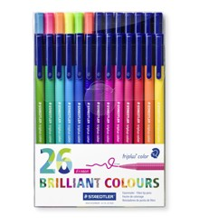 Staedtler - Triplus brilliant colour, 26 pcs (323 TB26)