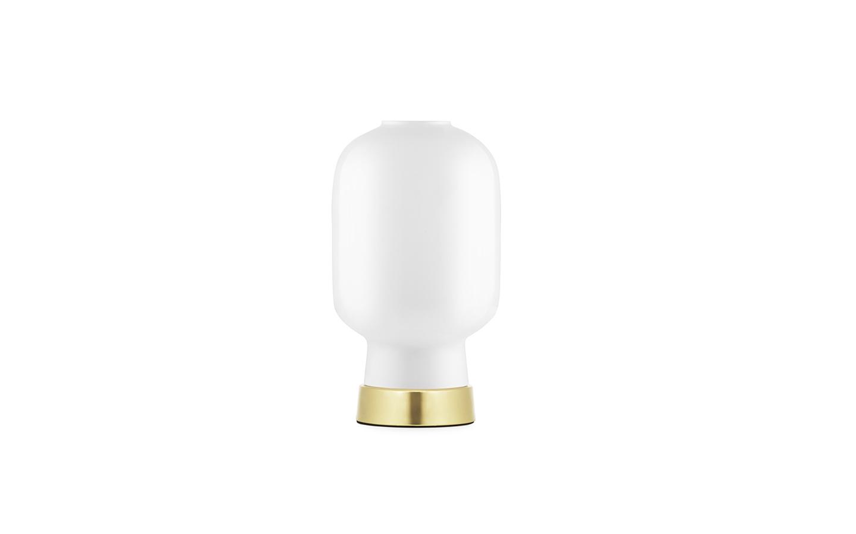 Kjøp Normann Copenhagen Amp Table Lamp WhiteBrass