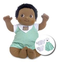 Rubens Barn - Rubens Baby dukke med ble - Nils (120095)