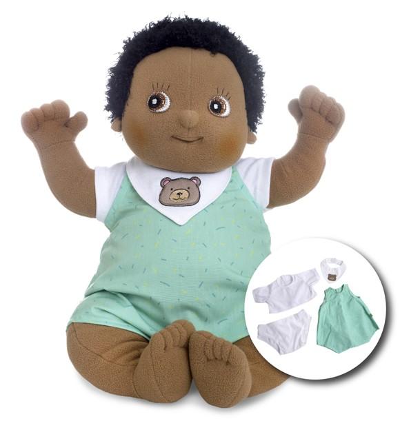 Rubens Barn - Rubens Baby dukke med ble - Nils