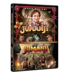 Jumanji 1-2 - DVD