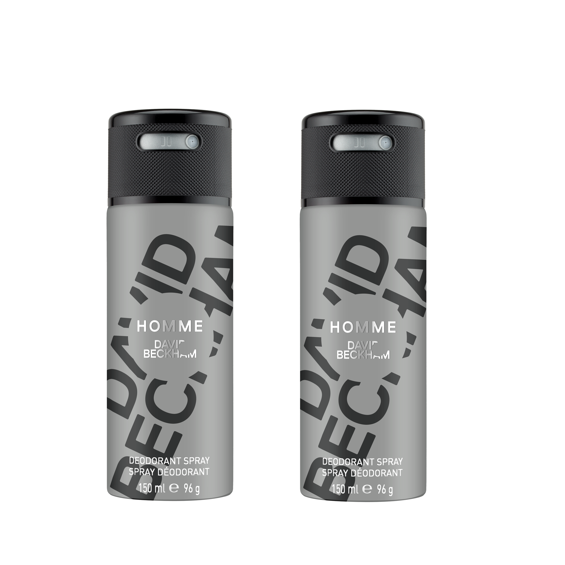 David Beckham - 2x Homme Deodorant Spray 150 ml