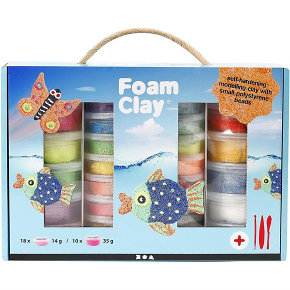 Foam Clay - Presentask
