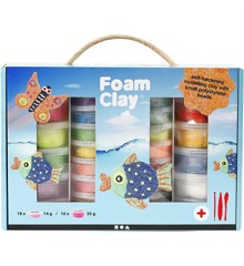 Foam Clay - Set - Diverse Kleuren