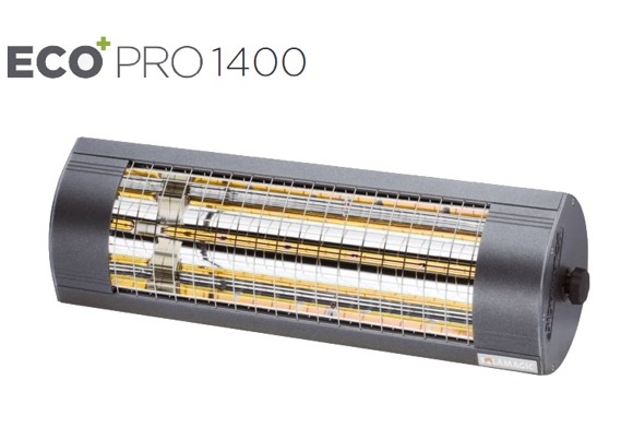 Solamagic -1400 ECO+ PRO Heater Without Switch Antracite