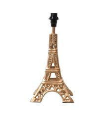 Rice - Metal Gold Table Lamp in Eiffel Tower Shape - Small
