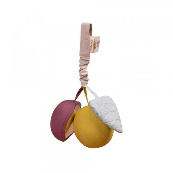 Filibabba - Aktivitetsrangle med spejl, Berry plum (FI-PT009)