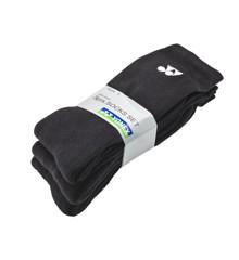 Yonex - Socks 3-pairs Black Small