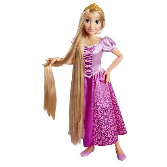Disney Prinsesser - Rapunzel Dukke, 81 cm (61773)