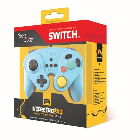 Steelplay - Gcube Wired Controller (Blue)