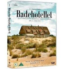 Badehotellet S1-5 Box (Vanilla) DVD