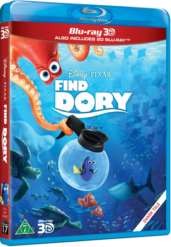 Disneys Find Dory/Finding Dory (3D Blu-Ray)