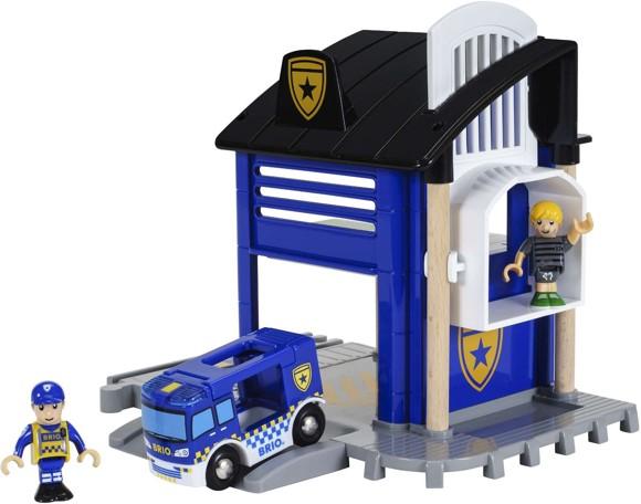 BRIO - Police Station (33813)