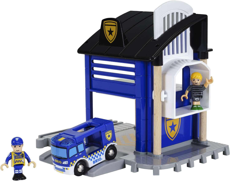 BRIO - Polizeistation mit Einsatzfahrzeug