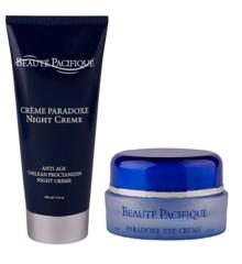 Beauté Pacifique - Paradoxe Nightcreme 100 ml + Paradoxe Anti-Age Eyecreme 15 ml